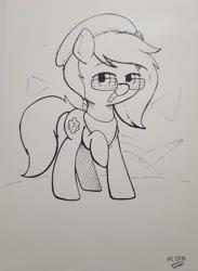 Size: 1950x2669 | Tagged: safe, artist:taurson, oc, oc:trivial pursuit, earth pony, beanie, cute, hat, male, stallion