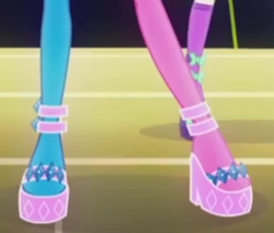 Size: 280x237 | Tagged: safe, screencap, rarity, equestria girls, life is a runway, cropped, legs, pictures of legs