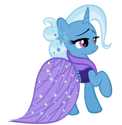 Size: 1569x1600   Tagged: safe, artist:alexpony, trixie, clothes, dress, ear piercing, earring, jewelry, piercing, simple background, solo, transparent background