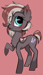 Size: 1721x2966 | Tagged: safe, artist:lux-arume, oc, oc only, oc:efflorescence, bat pony, pony, bat pony oc, female, filly, small wings, solo, wings