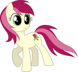 Size: 1084x1010 | Tagged: safe, artist:silentazrael, roseluck, earth pony, pony, cute, cuteluck, female, mare, simple background, solo, transparent background, vector
