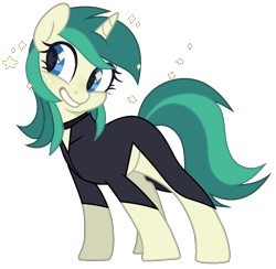 Size: 1482x1448 | Tagged: safe, oc, oc only, oc:spring starflower, pony, unicorn, choker, clothes, cute, female, simple background, smiling, trans girl, transgender, transparent background