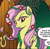 Size: 434x425 | Tagged: safe, idw, spoiler:comic, comic, cropped, poison ivyshy, ponies of dark water, solo, speech bubble