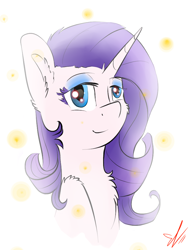 Size: 778x1024 | Tagged: safe, artist:yuris, rarity, unicorn, solo