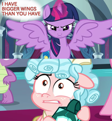 Size: 1200x1300   Tagged: safe, edit, cozy glow, twilight sparkle, alicorn, the ending of the end, spoiler:s09e24
