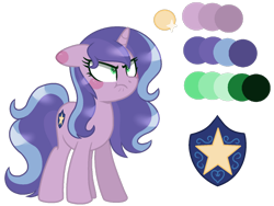 Size: 1024x771 | Tagged: safe, artist:leanne264, oc, oc only, oc:night light, pony, unicorn, bio, female, mare, offspring, parent:oc:lea, parent:shining armor, parents:canon x oc, simple background, solo, transparent background