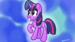 Size: 3840x2160 | Tagged: safe, artist:llamalauncher, unicorn, solo