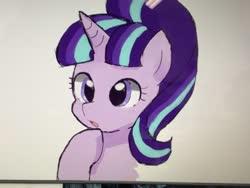 Size: 2048x1544   Tagged: safe, artist:tgos_337, starlight glimmer, pony, unicorn, solo