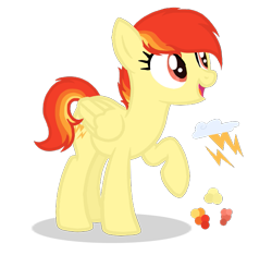 Size: 641x599 | Tagged: safe, artist:magicuniclaws, artist:n0va-bases, oc, oc:fire storm, pegasus, base used, cutie mark, female, magical lesbian spawn, mare, offspring, parent:rainbow dash, parent:spitfire, parents:spitdash, simple background, solo, transparent background