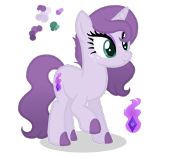 Size: 552x510   Tagged: safe, artist:magicuniclaws, artist:n0va-bases, oc, oc:flaming gem, dracony, hybrid, unicorn, base used, cutie mark, female, freckles, interspecies offspring, makeup, mare, offspring, parent:rarity, parent:spike, parents:sparity, solo