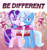 Size: 1573x1691 | Tagged: safe, artist:rainbow eevee, starlight glimmer, trixie, pony, unicorn, aura, bipedal, clothes, couple, cute, duo, eyelashes, female, flag, girlfriend, glimmerbetes, gradient background, grin, heart, lesbian, lesbian pride flag, lgbt, lgbt headcanon, lgbtq, lidded eyes, looking at you, magic, mouthpiece, pride, pride flag, purple eyes, shipping, shirt, smiling, smiling at you, startrix, support, telekinesis, text