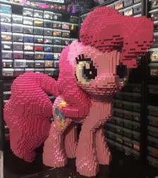 Size: 1829x2047 | Tagged: safe, artist:mc_survival_man, pinkie pie, pony, irl, lego, photo, solo