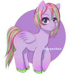 Size: 2000x2000 | Tagged: safe, artist:monyachan, oc, pegasus, pony, cute, sketch