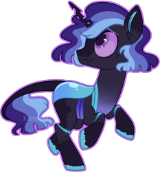 Size: 2118x2274 | Tagged: safe, artist:kurosawakuro, oc, changepony, hybrid, base used, colored sclera, magical lesbian spawn, offspring, outline, parent:queen chrysalis, parent:twilight sparkle, parents:twisalis, simple background, solo, transparent background, watermark