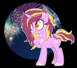 Size: 1280x1142 | Tagged: safe, artist:mintoria, oc, oc:firework, pony, unicorn, base used, female, mare, solo