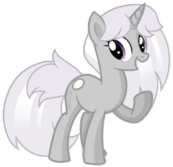 Size: 1065x1029 | Tagged: safe, artist:rainbow eevee, pony, unicorn, base used, battle for bfdi, battle for dream island, bfb, bfdi, female, mare, needle, needle (bfdi), open mouth, pointy horn, ponified, purple eyes, simple background, solo, transparent background