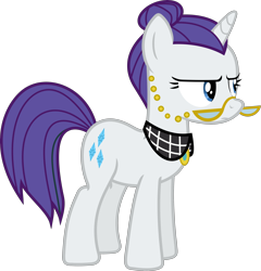 Size: 3846x4000 | Tagged: safe, artist:slb94, artist:timelordomega, cloudy quartz, rarity, accessory swap, mane swap, simple background, transparent background, vector