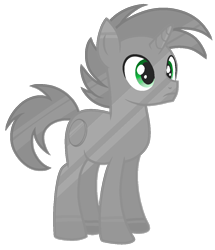 Size: 1012x1176   Tagged: safe, artist:rainbow eevee, coin pony, object pony, original species, pony, unicorn, battle for bfdi, battle for dream island, bfb, bfdi, coin, green eyes, inanimate insanity, male, nickel, nickel (bfb), nickel (inanimate insanity), ponified, simple background, solo, transparent background