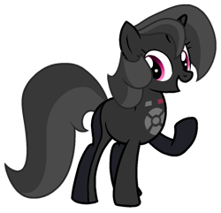 Size: 1123x1083 | Tagged: safe, artist:rainbow eevee, object pony, original species, pony, remote pony, unicorn, battle for bfdi, battle for dream island, bfb, bfdi, female, ponified, remote, remote (bfb), remote control, simple background, solo, transparent background