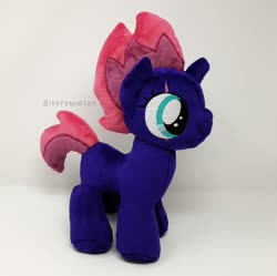 Size: 1500x1495 | Tagged: safe, artist:hipsterowlet, tempest shadow, pony, female, filly, irl, photo, plushie, solo