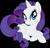 Size: 6222x6000 | Tagged: safe, artist:pink1ejack, kotobukiya, rarity, pony, unicorn, absurd resolution, cute, eyeshadow, female, kotobukiya rarity, looking at you, makeup, mare, raribetes, simple background, smiling, solo, transparent background, vector