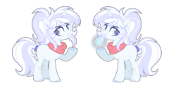 Size: 1920x938 | Tagged: safe, artist:nighty-drawz, oc, oc only, oc:avalanche, pony, unicorn, base used, female, mare, simple background, snow, snowflake, solo, transparent background