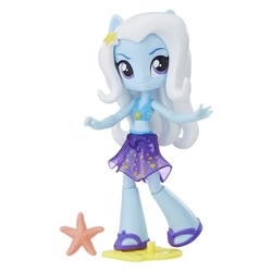 Size: 554x554 | Tagged: safe, trixie, equestria girls, bikini, clothes, doll, equestria girls minis, midriff, sarong, swimsuit, toy
