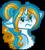 Size: 172x190 | Tagged: safe, artist:sharxz, oc, oc only, oc:serene shores, pony, unicorn, chibi, simple background, solo, transparent background, unicorn oc