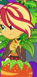 Size: 750x1560 | Tagged: safe, sunset shimmer, equestria girls, equestria girls series, holidays unwrapped, spoiler:eqg series, spoiler:eqg series (season 2), cornucopia costumes, o come all ye squashful, solo