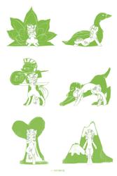 Size: 2000x3000 | Tagged: safe, artist:ratann, tree hugger, bird, dog, earth pony, pony, swan, bush, downward dog, fantasy class, heart, helmet, monochrome, mountain, mountain pose, shield, simple background, solo, spear, tree, tree pose, warrior, warrior pose, weapon, white background, yoga, yoga pose