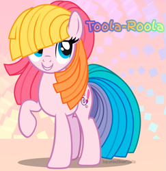 Size: 1943x2000 | Tagged: safe, artist:importantgreatwake, artist:pigeorgien, toola roola, earth pony, female, g3, g3 to g4, g3.5, g3.5 to g4, generation leap, mare, solo