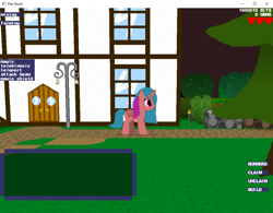 Size: 1024x798 | Tagged: safe, oc, oc:super zap, fan game, game, mmo, plat world, solo