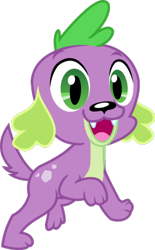 Size: 750x1211 | Tagged: safe, artist:sketchmcreations, edit, edited edit, editor:slayerbvc, vector edit, spike, spike the regular dog, dog, equestria girls, accessory-less edit, cropped, missing accessory, simple background, solo, transparent background, vector