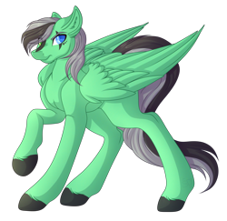 Size: 3506x3404 | Tagged: safe, artist:amazing-artsong, oc, oc:aaron flaze, pegasus, pony, high res, male, simple background, solo, stallion, transparent background