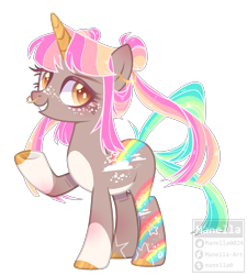 Size: 2136x2376 | Tagged: safe, artist:manella-art, oc, oc:diva, pony, unicorn, colored horn, female, horn, mare, simple background, solo, transparent background