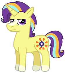 Size: 819x921 | Tagged: safe, artist:kindheart525, oc, oc only, oc:shining star, pony, unicorn, kindverse, colt, male, offspring, parent:starlight glimmer, parent:sunburst, parents:starburst, simple background, solo, transparent background