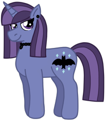 Size: 1352x1536 | Tagged: safe, artist:kindheart525, oc, oc only, oc:moonstone, pony, unicorn, kindverse, female, jewelry, magical lesbian spawn, mare, offspring, parent:maud pie, parent:trixie, parents:mauxie, simple background, solo, transparent background