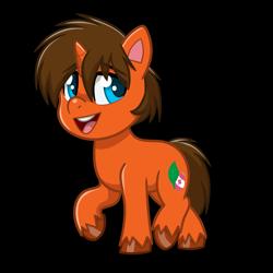 Size: 4093x4093 | Tagged: safe, artist:jcosneverexisted, oc, oc only, oc:splash heal, pony, unicorn, my little pony: pony life, male, solo, stallion, unshorn fetlocks