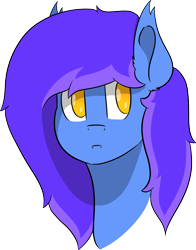 Size: 4517x5756 | Tagged: safe, artist:skylarpalette, oc, oc only, oc:skylar night, bat pony, bat pony oc, bat wings, blue, fangs, full color, huh, looking back, pink, purple, shading, simple background, solo, transparent background, wings, yellow, yellow eyes