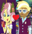 Size: 629x675 | Tagged: safe, edit, edited screencap, screencap, trenderhoof, vignette valencia, equestria girls, equestria girls series, friendship games, inclement leather, spoiler:choose your own ending (season 2), spoiler:eqg series (season 2), cellphone, clothes, cropped, crystal prep academy uniform, female, heart, inclement leather: vignette valencia, male, phone, school uniform, shipping, shipping domino, smartphone, straight, trenette