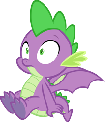 Size: 5210x6001 | Tagged: safe, artist:memnoch, spike, dragon, claws, male, simple background, solo, transparent background, underfoot, vector, winged spike