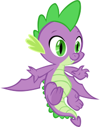Size: 4739x6001 | Tagged: safe, artist:memnoch, spike, dragon, claws, flying, male, simple background, solo, transparent background, vector, winged spike