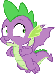 Size: 4533x6001 | Tagged: safe, artist:memnoch, spike, dragon, dragon dropped, spoiler:s09e19, flying, male, simple background, solo, transparent background, vector, winged spike