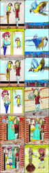 Size: 1342x4629 | Tagged: safe, artist:meiyeezhu, fluttershy, posey shy, sandalwood, bird, human, macaw, parrot, equestria girls, angry, anime, big breasts, blushing, bouquet, breasts, busty fluttershy, busty posey shy, button, city, cityscape, clothes, comic, cruel, curtains, doorbell, fail, female, flower, flying, glasses, gloves, heart, high heels, huge breasts, humanized, lovesick, mistake, mistaken identity, mother and daughter, nervous, old master q, oops, pants, parody, plate, ringing bell, sandalshy, shipping, shirt, shocked, shoes, shy, skirt, slippers, squawk, stake, stand, standing, sticks, straight, surprised, sweater, sweatershy, tape, this will end in burns, this will end in death, tickets, trapped, vest, walking, wallet, window, wrapped up, wristband