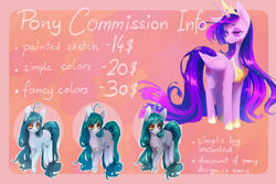 Size: 1984x1324   Tagged: source needed, safe, artist:perilune, twilight sparkle, alicorn, pony, the last problem, spoiler:s09e26, advertisement, commission, commission info, ethereal mane, female, hoof shoes, mare, older, older twilight, princess twilight 2.0, starry mane, twilight sparkle (alicorn)