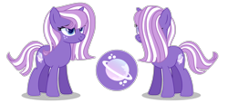 Size: 3124x1430 | Tagged: safe, artist:star-gaze-pony, oc, oc:saturn aurora, unicorn, female, mare, offspring, parent:star tracker, parent:twilight sparkle, parents:twitracker, simple background, solo, transparent background