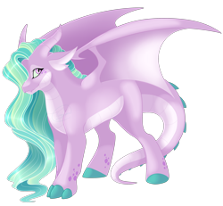 Size: 2700x2500 | Tagged: safe, artist:gigason, oc, oc:tourmaline, dracony, dragon, hybrid, pony, female, high res, offspring, parent:princess celestia, parent:spike, parents:spikelestia, simple background, solo, transparent background