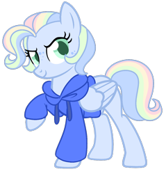 Size: 1038x1084 | Tagged: safe, artist:unicorn-mutual, oc, oc only, pegasus, pony, base used, clothes, female, freckles, hoodie, magical lesbian spawn, mare, offspring, parent:rainbow dash, parent:vapor trail, parents:vapordash, simple background, solo, transparent background
