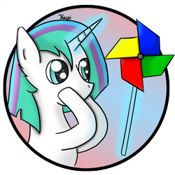 Size: 1134x1134   Tagged: safe, artist:kacpi, oc, pony, unicorn, horn, unicorn oc