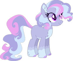 Size: 462x387 | Tagged: safe, artist:moshiitomo, oc, pony, unicorn, female, magical lesbian spawn, mare, offspring, parent:princess luna, parent:trixie, parents:luxie, simple background, solo, transparent background